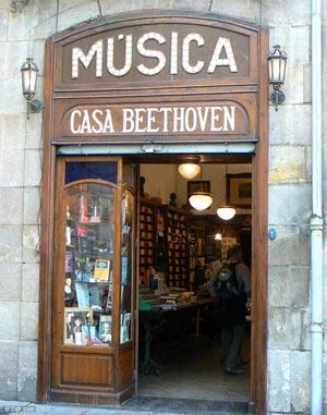 Casa beethoven partituras y libros de m sica en barcelona - Casas de musica en barcelona ...