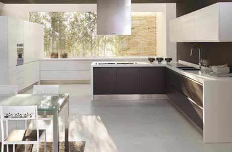 Berloni en barcelona un hogar equipado al 100 for Cocinas modernas barcelona