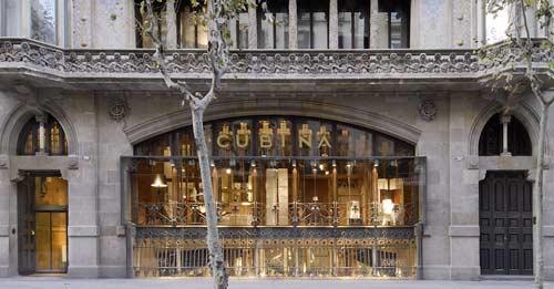 Cubi mobiliario de dise o en una atm sfera modernista - Cubina barcelona ...