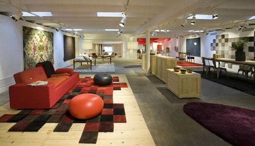 Nani marquina todas sus alfombras en su tienda de barcelona - Alfombras en barcelona ...