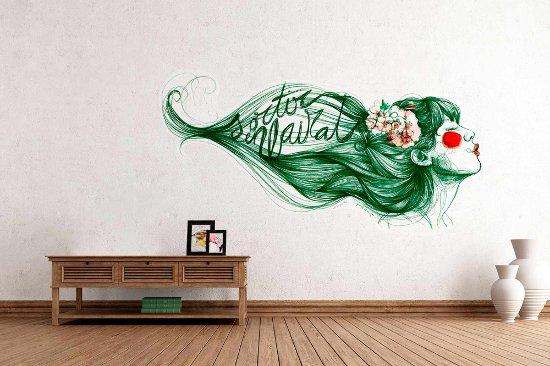 The wallery art sticos murales y vinilos decorativos en barcelona - Wandsticker graffiti ...