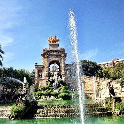 Parques y jardines de barcelona zonas verdes en barcelona for Parques y jardines de barcelona