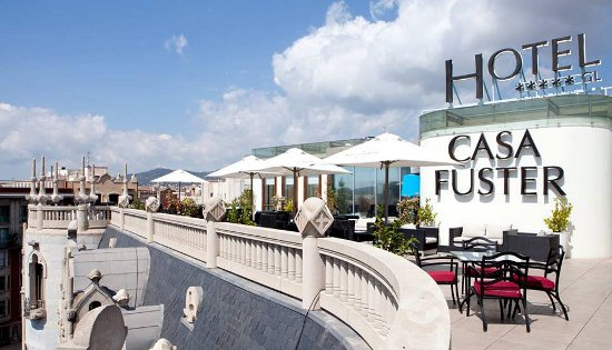 Hotel casa fuster un establecimiento de lujo en el coraz n de barcelona - Restaurante casa fuster barcelona ...