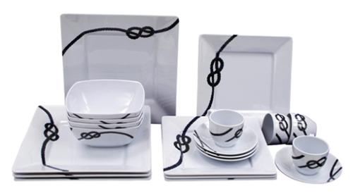 La vajilla mesas con estilo en bilbao for Vajillas elegantes