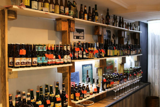 Las mejores cervezas del mundo en vinoteca belosticalle en bilbao - Como montar una vinoteca ...