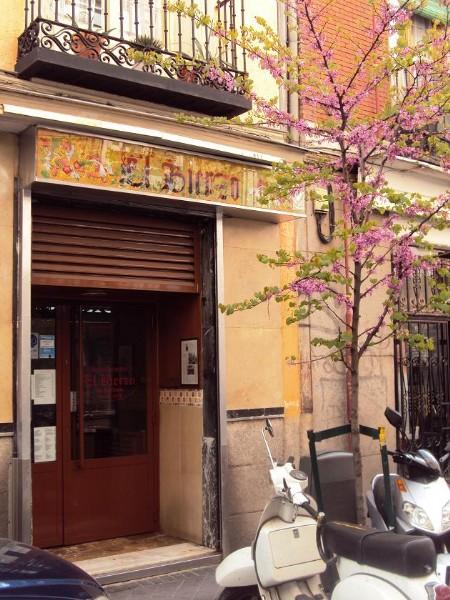 fachada del restaurante Bierzo en Chueca Madrid