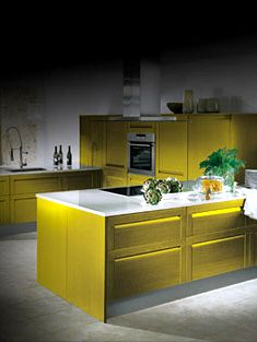The singular kitchen vanguardia en cocinas for Singular kitchen