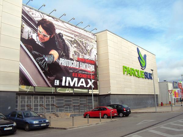 cartelera cine parque sur leganes: