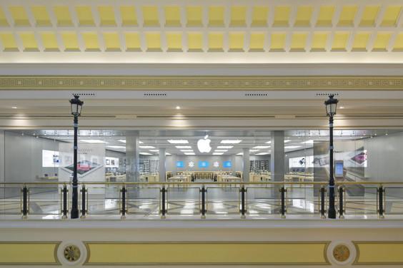Apple store puerta del sol la manzana llega al centro for Centro comercial sol madrid