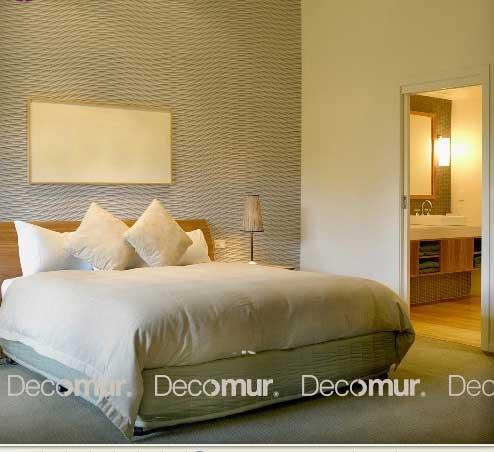 Papel estampado en tres dimensiones para la pared de - Papeles pintados dormitorios ...