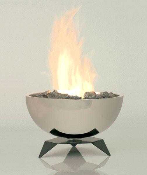 Alfra chimeneas con fuego pero sin humo - Estufas sin chimenea ...