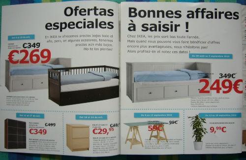 a la izquierda catlogo ikea espaa a la derecha catlogo ikea francia with comprar catalogo ikea