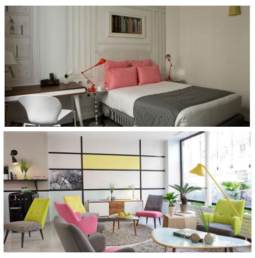 Donde alojarse en par s hoteles hostales y casas de for Hoteles diseno paris