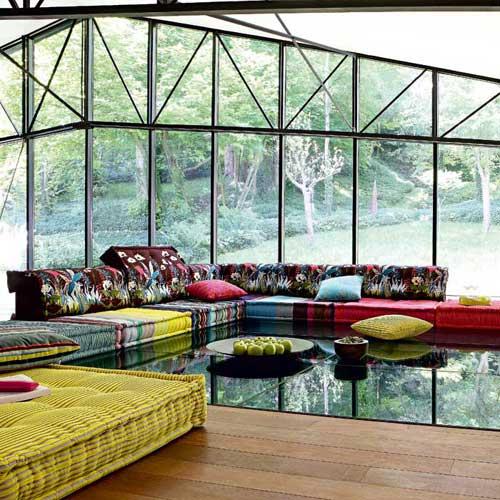Roche bobois el lujo de la casa de muebles francesa en - Roche bobois barcelona ...