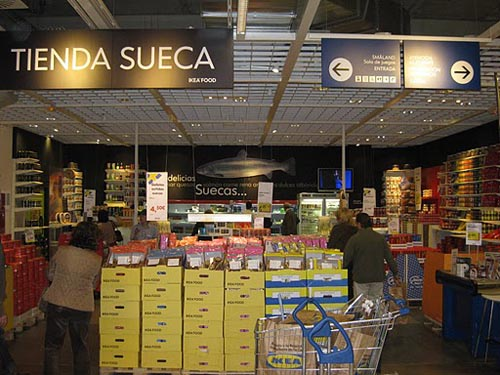 Ikea food un supermercado sueco en sevilla - Ikea de sevilla ...