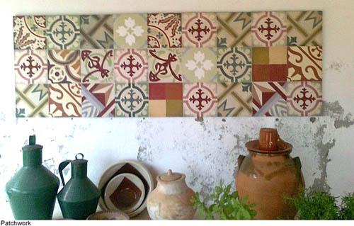 mosaic del sur recupera la tradicional baldosa de sevilla. Black Bedroom Furniture Sets. Home Design Ideas