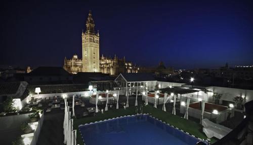 De terrazas por sevilla hotel los seises - Terraza hotel eme ...