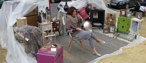 Visitando el mercadillo artesanal de los bermejales en - Mercadillos sevilla domingo ...