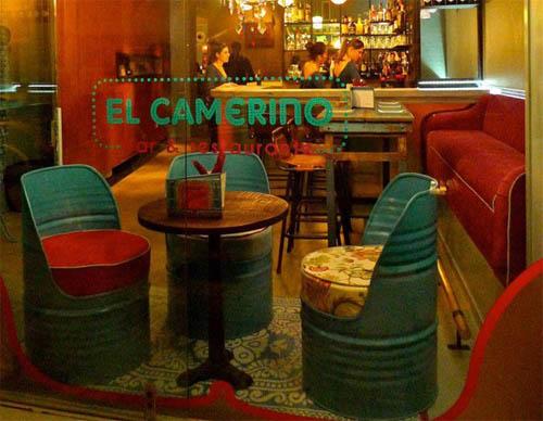 El camerino tapas muy teatrales en el arenal de sevilla for Decoracion de bares de tapas