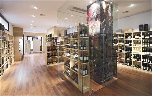 Vi a y licor la nueva tienda de vinos y licores gourmet for Muebles rodero