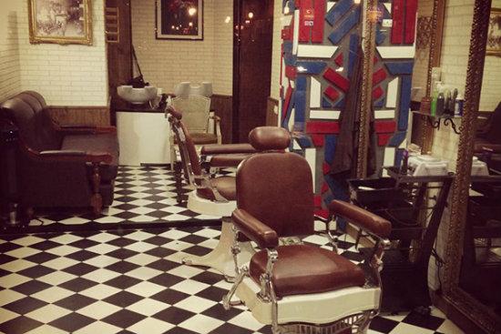 Las 4 1 barber as m s sorprendentes y hipster de - La barberia de vigo ...