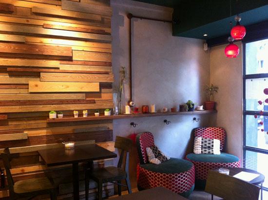 Bitte cocina sana y buenas tartas en este caf de estilo - Casas de lamparas en barcelona ...