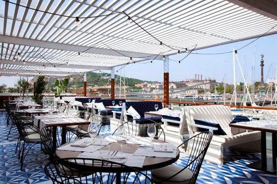 Restaurante mar tim excelente marisco y privilegiada ubicaci n en barcelona - Restaurant umo barcelona ...