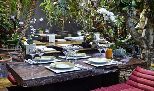 Los 5 mejores restaurantes rom nticos de barcelona for Los restaurantes mas clandestinos y secretos de barcelona