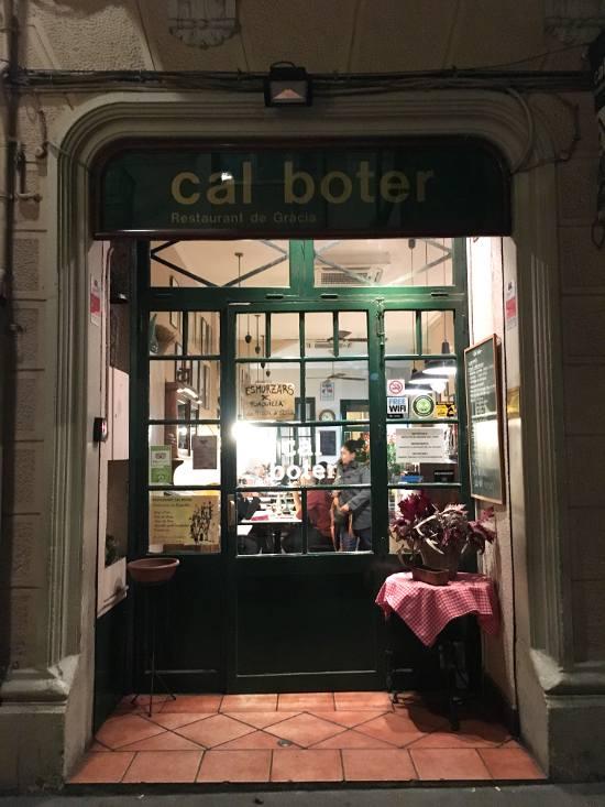 Restaurante CAL BOTER: Cocina catalana y un gran menú de mediodía en ...