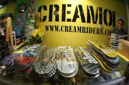 Todo a mano en las tiendas Cream01 4feef818d05