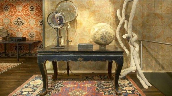 Rica basagoiti en bilbao arte en forma de alfombra - Comprar maletas antiguas decoracion ...