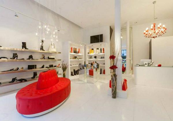 Vn zapatos y complementos en su nueva tienda de bilbao for Decoracion de interiores zapaterias