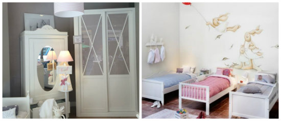 Mini suite habitaciones de cuento para los m s peque os - Decoracion en bilbao ...