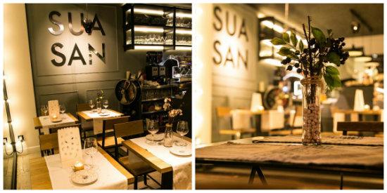 Sua san cocina saludable y buen sima en el centro de for Decorar restaurante pequeno