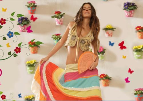 Aparador Retro Colorido ~ FLAMENCO CHIC abre nueva tienda en la calle Ayala DolceCity com