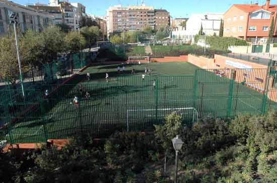 Polideportivo pradillo al sur de madrid for Piscina hortaleza