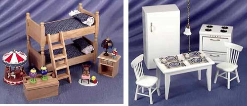 Esmalper mu ecas de porcelana y casas en miniatura - Como hacer muebles para casa de munecas ...
