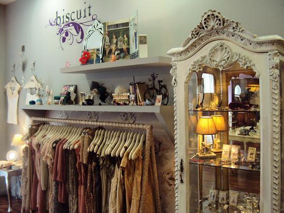 Biscuit en madrid vestidos y complementos muy rom nticos for Complementos para el hogar online