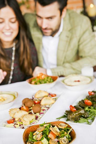 Du liban en madrid cocina libanesa para tu cena de navidad y nochevieja - Comidas para noche vieja ...
