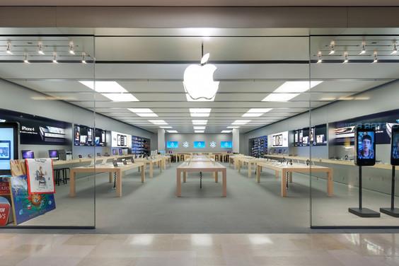 Apple store puerta del sol la manzana llega al centro for Centro comercial la puerta del sol