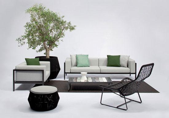 Kettal landscape daybed la nueva propuesta de kettal para for Kettal muebles jardin