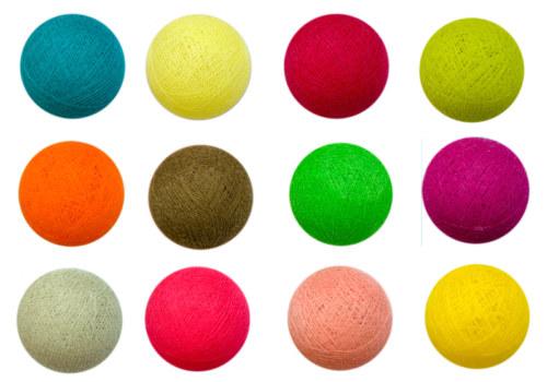 La case du cousin paul bolas de colores a granel - Bola de discoteca de colores ...
