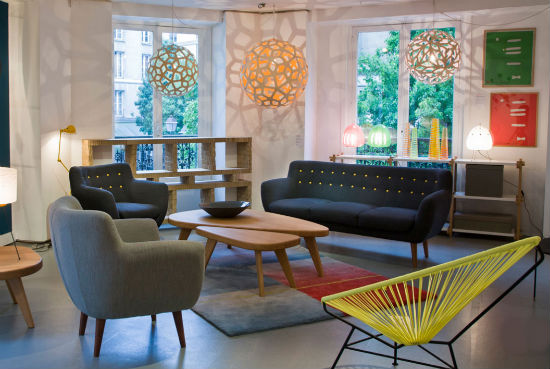 sentou, muebles de diseño en le marais de parís | dolcecity.com - Tiendas Muebles Diseno