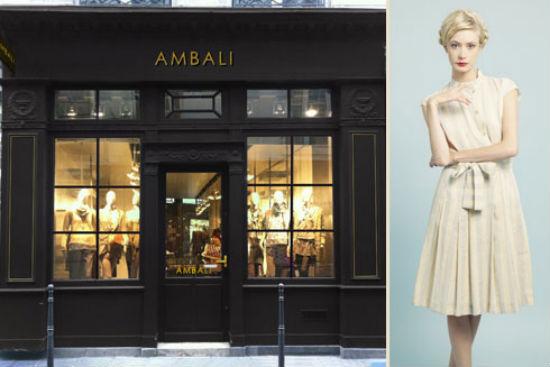 Ambali boutique rom ntica y minimalista en pleno marais for Fachadas de almacenes modernos