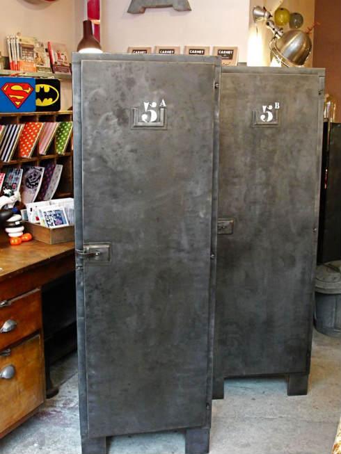Carouche muebles y decoraci n vintage en par s for Muebles industriales antiguos