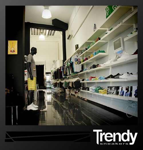 Trendy Sneakers Una Nueva Tienda De Moda Urbana En