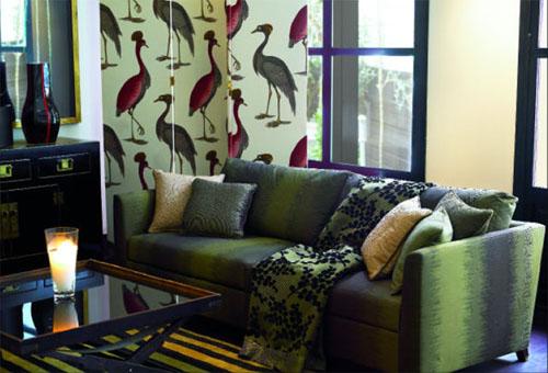 Gast n y daniela mobiliario y telas de dise o en sevilla - Papel pintado gaston y daniela ...