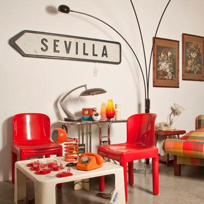 Una ruta vintage en sevilla - Mobiliario vintage sevilla ...