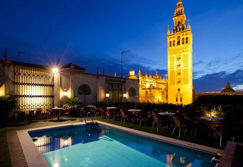 5 terrazas para disfrutar la semana santa en sevilla - Terraza hotel eme ...