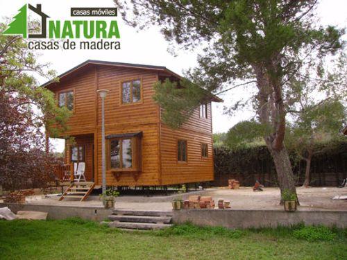 Casas de madera natura la alternativa al ladrillo for Casas de madera valencia